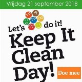Keep It Clean Day door Anne Marie van Leent